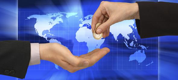 föra över pengar till utlandet